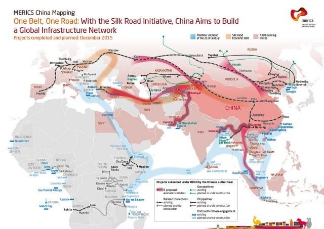 """โลกกำลังจะสะเทือนเพราะจีนจะเปิดตัว """"เส้นทางสายไหมใหม่"""" สุดยอดเมกะโปรเจกต์เชื่อมจีนเข้ากับยุโรปและแอฟริกา"""