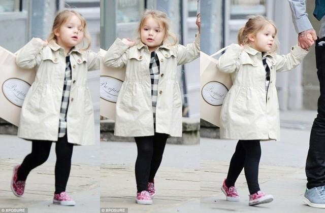 """สุดน่ารัก! ลูกสาวสุดท้องครอบครัว""""เบ็คแฮม""""เข้าเรียนคลาสสอนเต้นชื่อดังช.ม.ละ4600บ."""