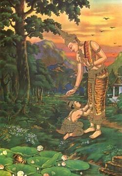 ใครเป็นใคร ? จากเรื่องพระเวสสันดร กลับชาติมาเกิด ใน พระชาติของการตรัสรู้ธรรมเป็นพระพุทธเจ้า