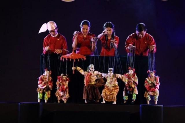 นครราชสีมาก้าวสู่เมืองศิลปะ สีสันหุ่นร่วมสมัย 8 ชาติ 28 คณะ คึกคัก สมคุณค่า