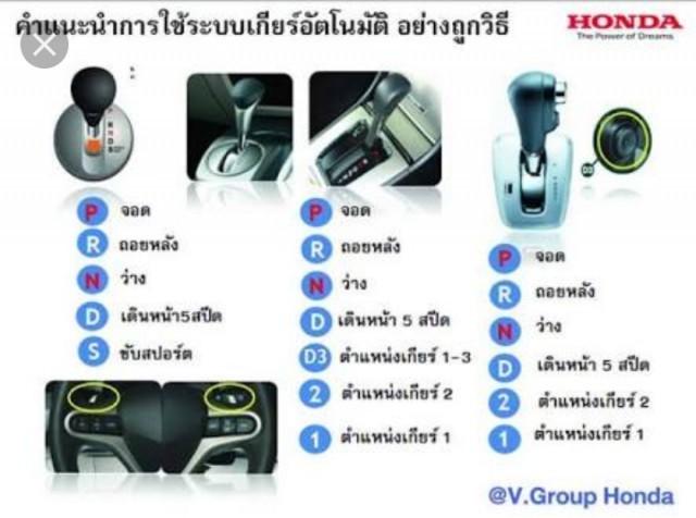 หยุดรถ..ต้องเกียร์ออโต้ ค้างไว้ D หรือเลือกเกียร์ N อันไหนถูกอันไหนผิด…??
