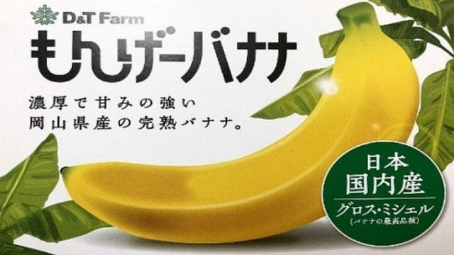 ญี่ปุ่นพัฒนา Mongee กล้วยพันธุ์ใหม่ที่กินได้ทั้งเปลือกเหมือนกับ Apple