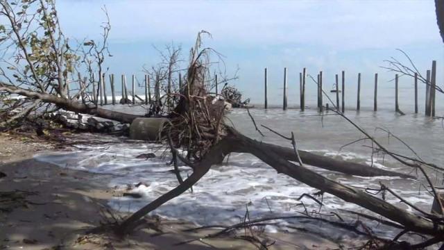 """อุตุฯเตือนพื้นที่ภาคใต้เสี่ยงรับมือพายุ """"เทมบิน"""" อาจเกิดน้ำท่วมฉับพลัน และคลื่นลมแรง"""