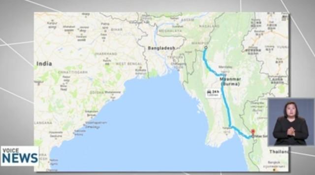 อินเดียตัดถนน 'มุ่งไทย' หวังถ่วงดุลจีน