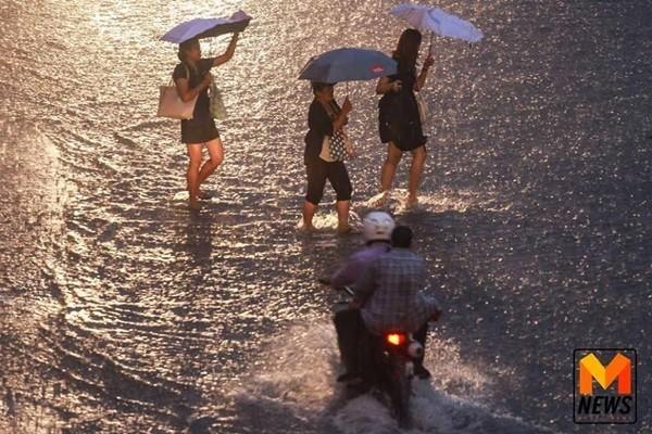 อุตุฯ เผย กรุงเทพฯ-ปริมณฑล มีฝนตกเล็กน้อยบางพื้นที่ช่วงบ่ายถึงเย็น