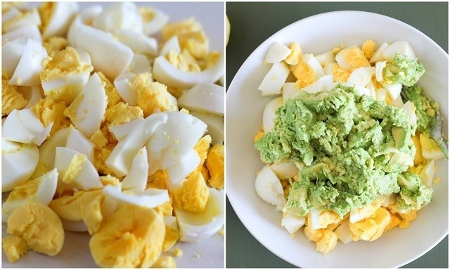 ประโยชน์ของอาหารเช้าสลัดไข่อะโวคา