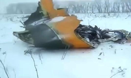 เครื่องบินรัสเซียตก ยันผู้โดยสารและลูกเรือเสียชีวิตทั้งหมด ส่วนสาเหตุยังไม่แน่ชัด