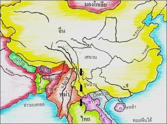 """""""ถิ่นไทยเดิม"""" ของคนไทยมาจากไหน (ก่อนที่เราจะมาอยู่กันตรงนี้)"""