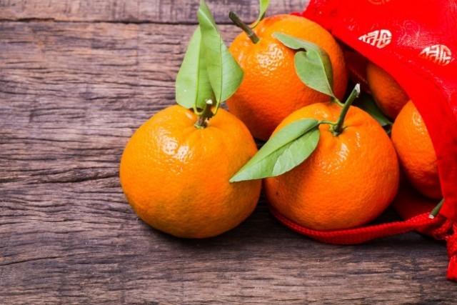 """""""ส้ม"""" ของขวัญในเทศกาลตรุษจีน"""