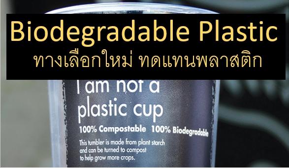 'Biodegradable Plastic' ทางเลือกใหม่ กับพลาสติกธรรมชาติ