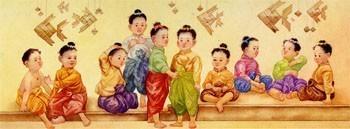 ทำไม ??  เด็กไทยโบราณ จะไว้ผมจุก ผมเปีย ผมแกละ หรือผมโก๊ะ แล้วจะโกนตอนไหนล่ะ ?