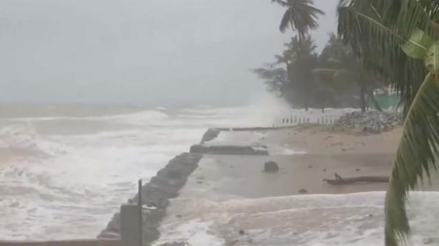 ฝนตกหนักบริเวณภาคใต้ มีผลกระทบจนถึงวันที่ 19 ตุลาคม 2562