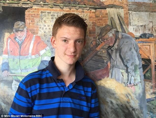 เด็กหนุ่มวัย 14 ปี ผู้หลงใหลในการวาดรูป กับฝีมือขั้นเทพ จนกลายเป็นเศรษฐีไปแล้ว